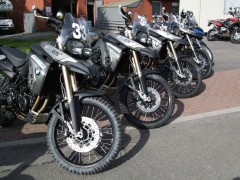 F800 GS On Arrival