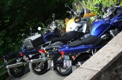 The bikes on arrival