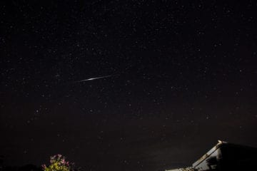 Perseid Shower 2013