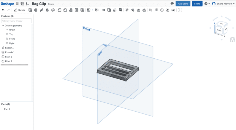 Onshape screenshot